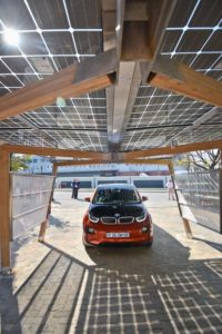 solar power parking carports