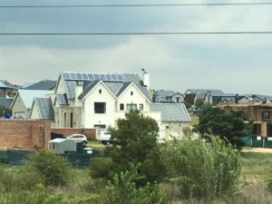 solar power infested suburb