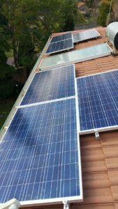 solar power units on roof 2