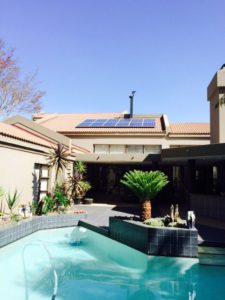 luxury solar power panel