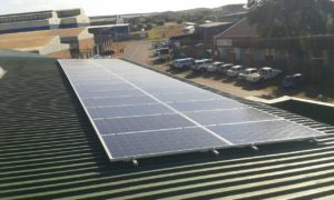 factory solar power system