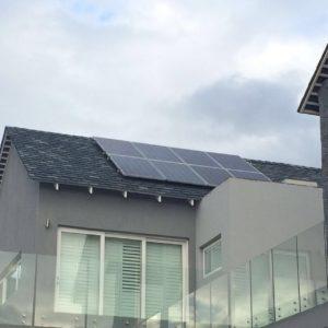 solar energy on roof