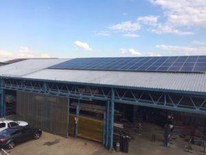large solar energy panels from sunworx