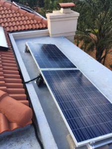 sunworx panels on tiles